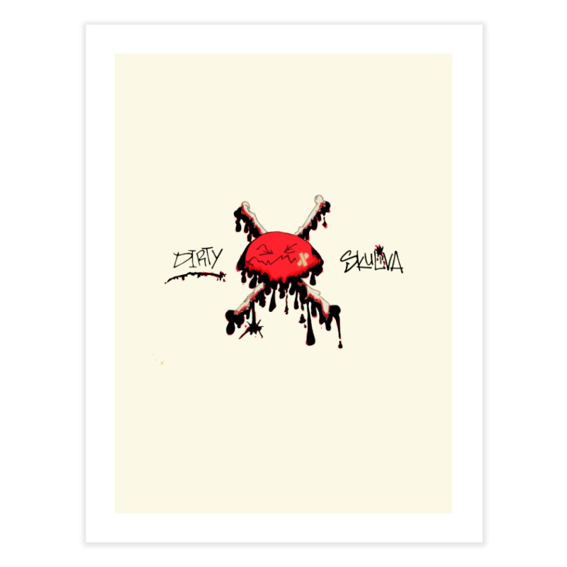 Dirty Skuliva Home Fine Art Print by Silli Philli Produktionz | Custom Prints