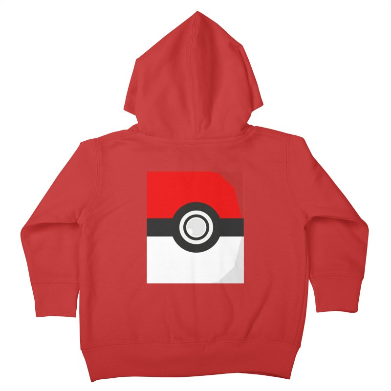 PokeMaan Kids Toddler Zip-Up Hoody by Silli Philli Produktionz | Custom Prints