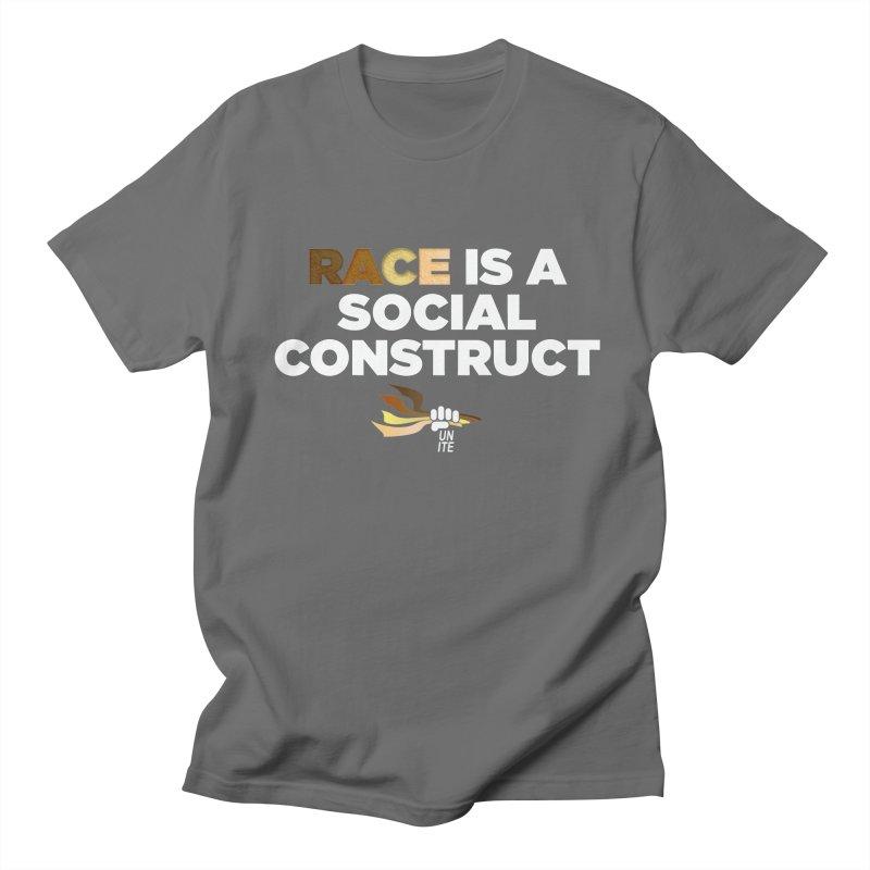Social Race   BLKPWR-UNITE Men's T-Shirt by Silli Philli Produktionz   Custom Prints