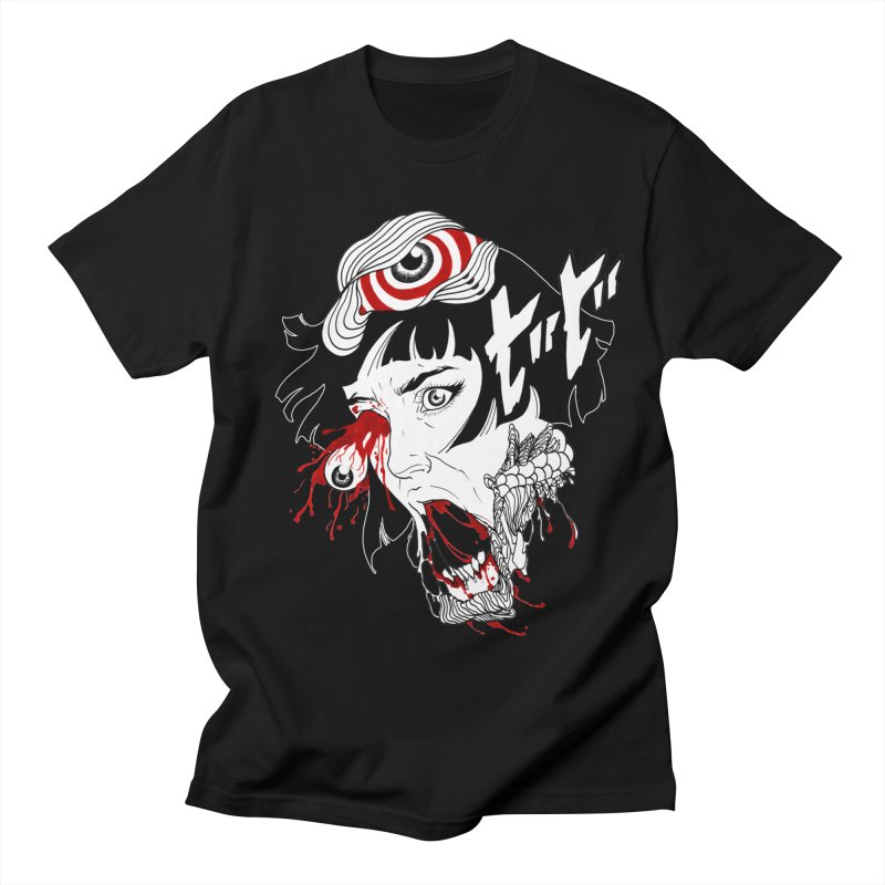 The Scarred Collection in Men's Regular T-Shirt Black by Silly Shop