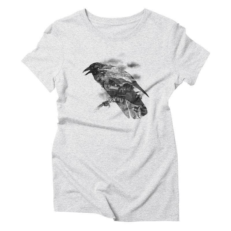 BAD NEWS Women's Triblend T-Shirt by silviopqno's Artist Shop