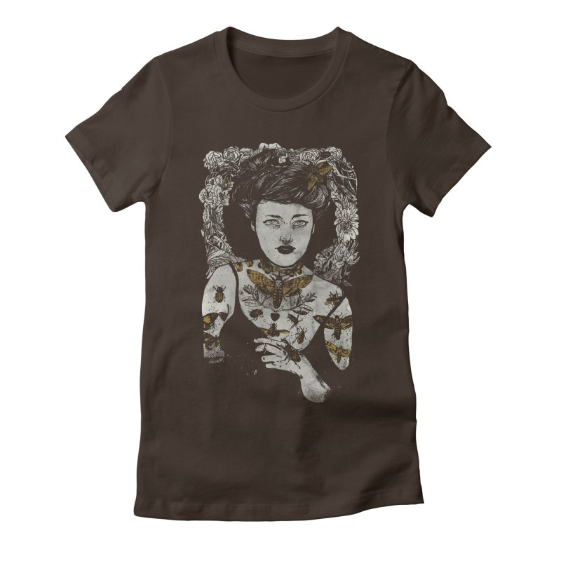 Beautiful Creatures Women's Fitted T-Shirt by silviopqno's Artist Shop