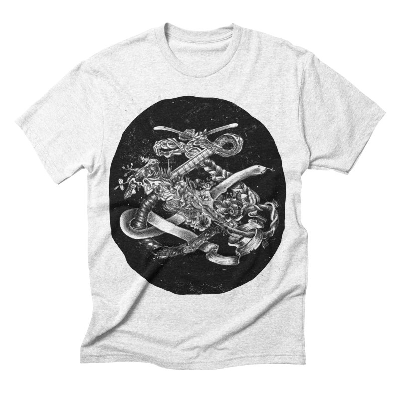 Dangerous Ornaments Men's Triblend T-shirt by silviopqno's Artist Shop