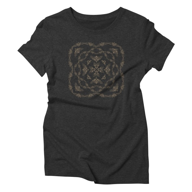 Lux Women's Triblend T-shirt by silviopqno's Artist Shop