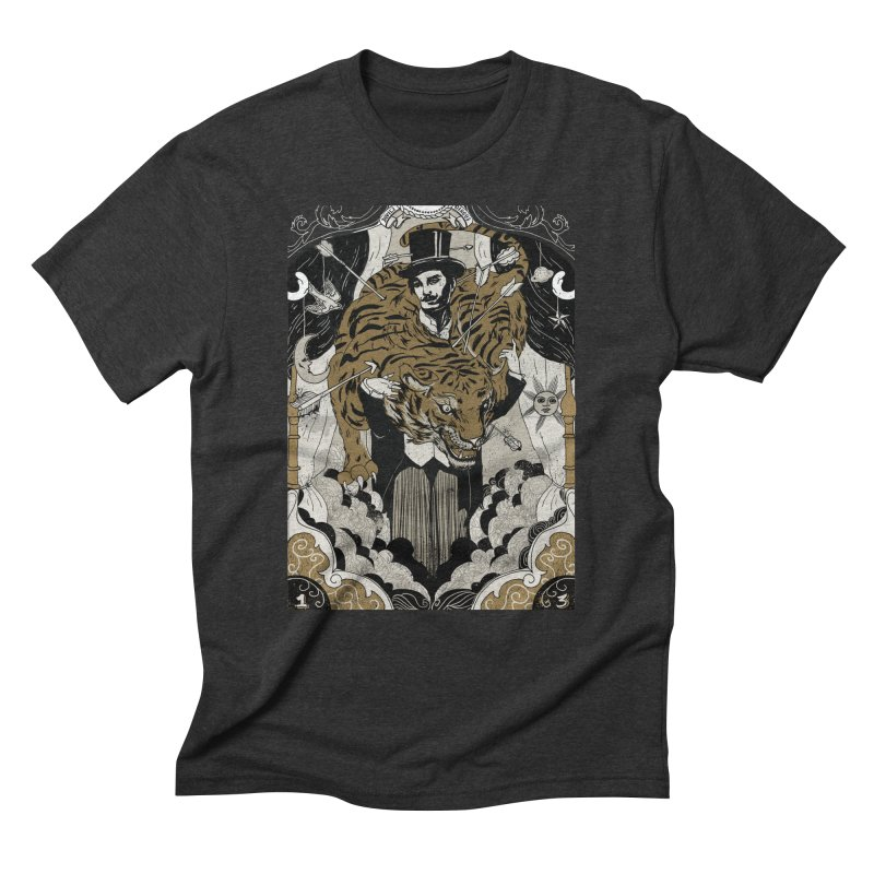 The Tamer Men's Triblend T-shirt by silviopqno's Artist Shop