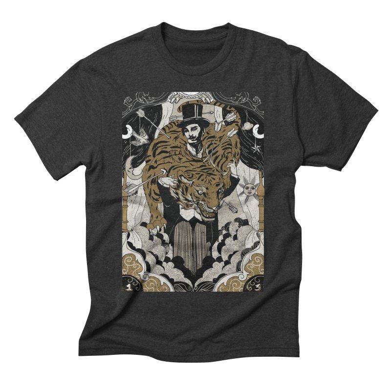 The Tamer Men's Triblend T-shirt by silviopqno's Artist Shop