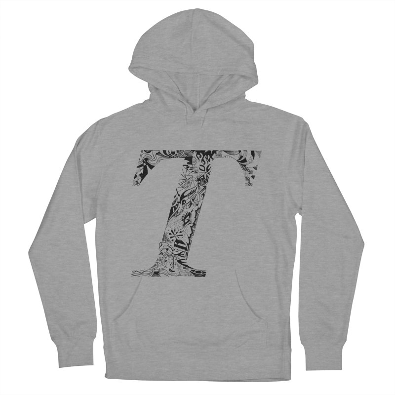 The Original T Men's Pullover Hoody by Simon's Artist Shop
