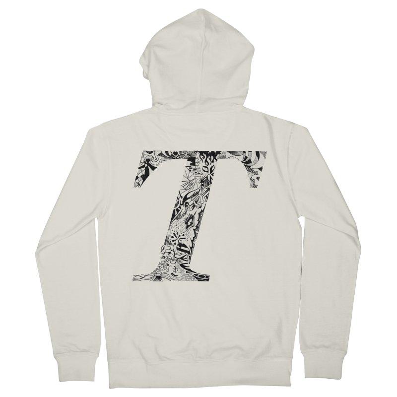 The Original T Men's Zip-Up Hoody by Simon's Artist Shop