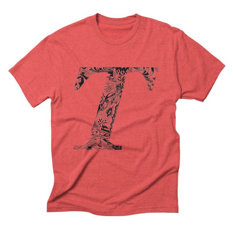 The Original T Men's Triblend T-Shirt by Simon's Artist Shop