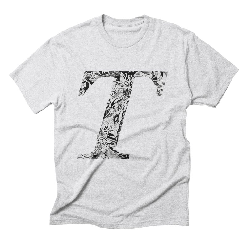 The Original T Men's Triblend T-shirt by Simon's Artist Shop