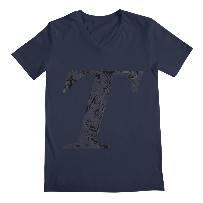 The Original T Men's V-Neck by Simon's Artist Shop