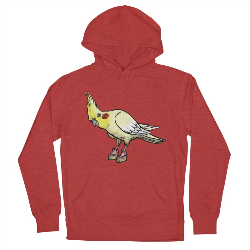 Cockatiel Women's Pullover Hoody by Simon Christopher Greiner