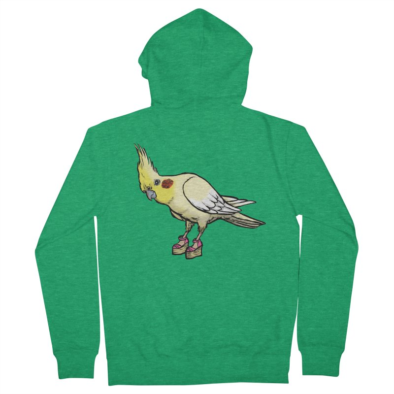 Cockatiel Women's Zip-Up Hoody by Simon Christopher Greiner