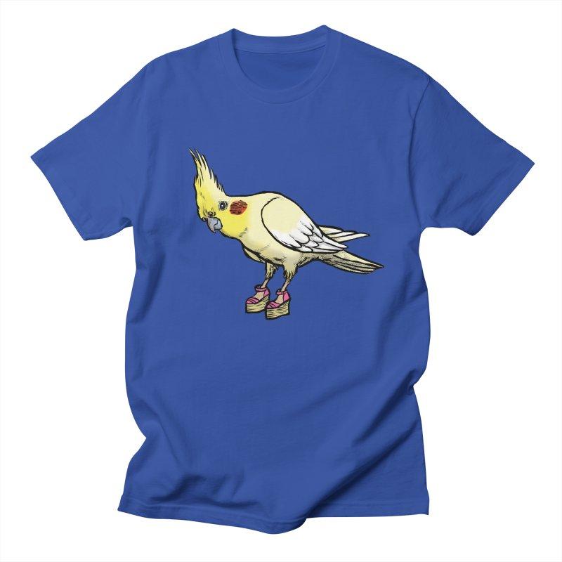 Cockatiel Women's Unisex T-Shirt by Simon Christopher Greiner