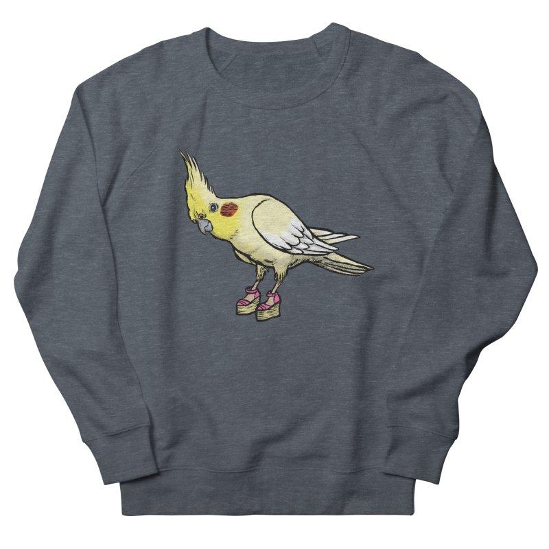 Cockatiel Women's French Terry Sweatshirt by Simon Christopher Greiner