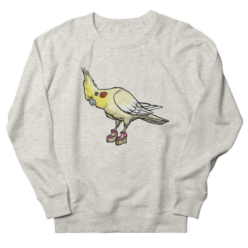 Cockatiel Women's Sweatshirt by Simon Christopher Greiner