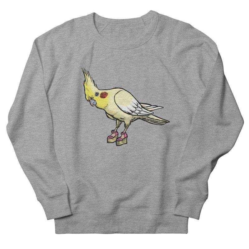 Cockatiel Men's Sweatshirt by Simon Christopher Greiner