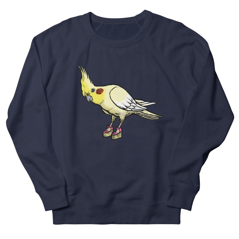 Cockatiel Men's Sweatshirt by Simon Christopher Greiner