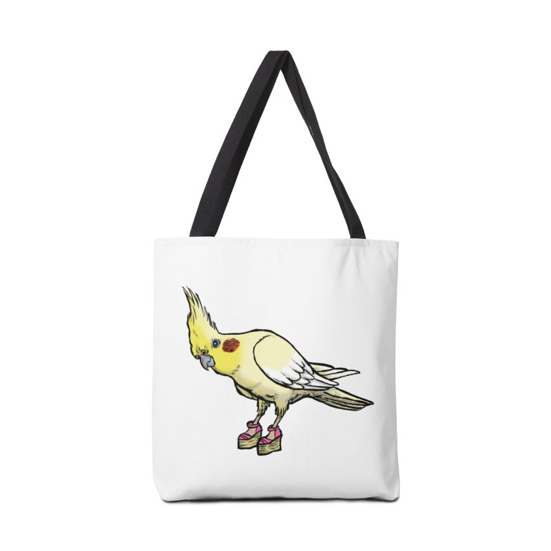 Cockatiel Accessories Bag by Simon Christopher Greiner