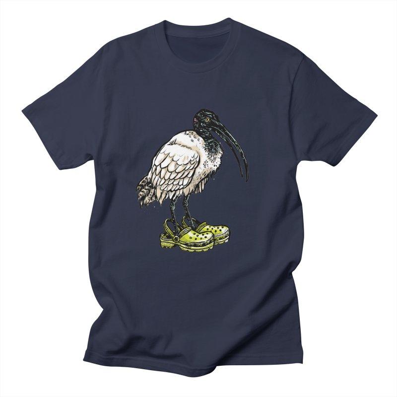 Ibis Men's T-Shirt by Simon Christopher Greiner
