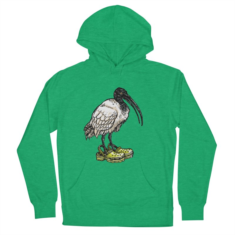 Ibis Men's French Terry Pullover Hoody by Simon Christopher Greiner