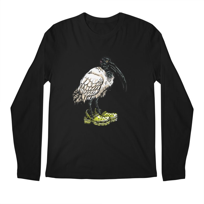 Ibis Men's Regular Longsleeve T-Shirt by Simon Christopher Greiner