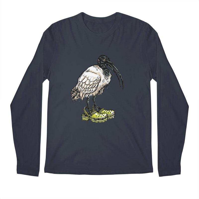 Ibis Men's Regular Longsleeve T-Shirt by Simon Christopher Greiner