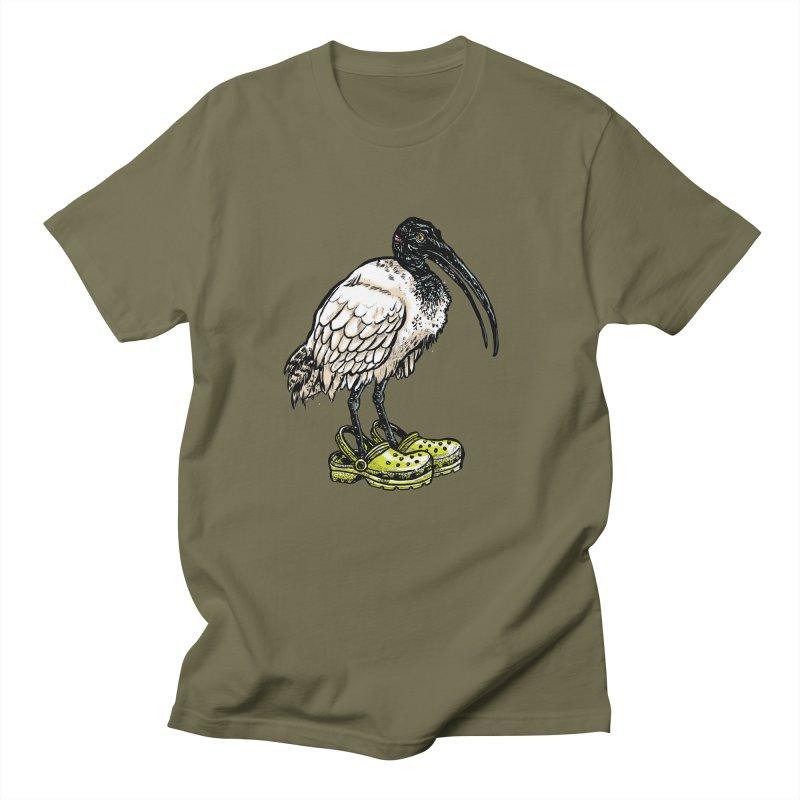 Ibis Men's Regular T-Shirt by Simon Christopher Greiner