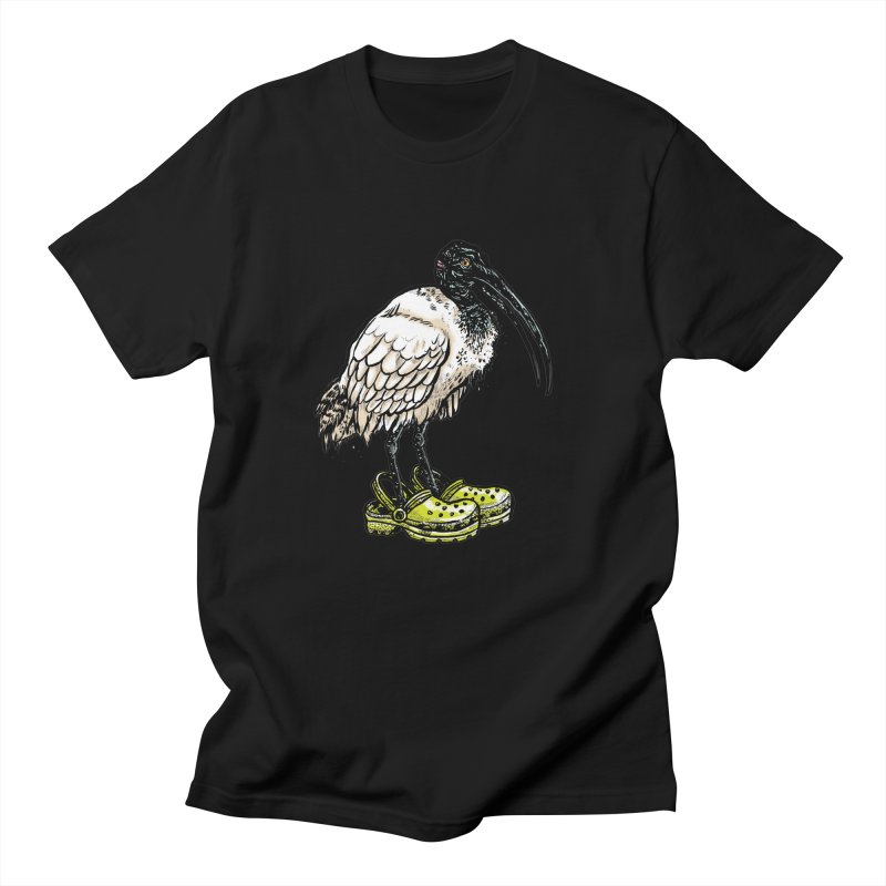 Ibis Men's T-Shirt by Simon Christopher Greiner
