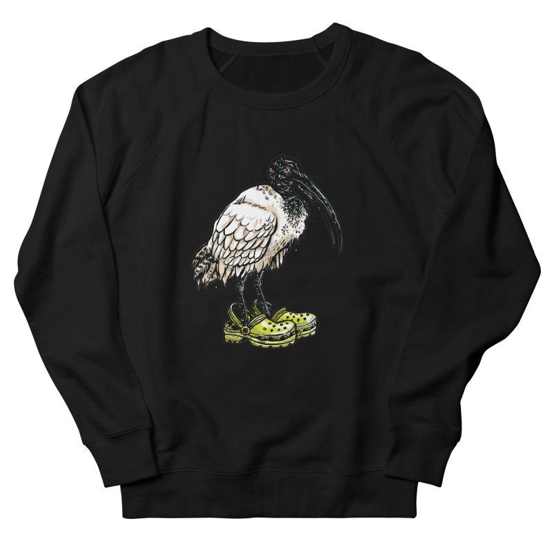 Ibis Women's French Terry Sweatshirt by Simon Christopher Greiner