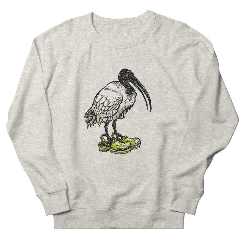 Ibis Men's French Terry Sweatshirt by Simon Christopher Greiner