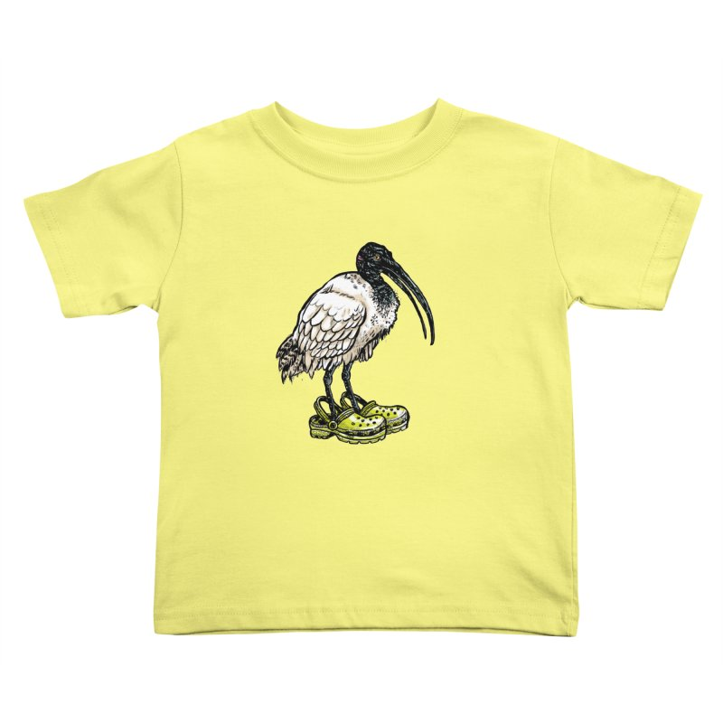 Ibis Kids Toddler T-Shirt by Simon Christopher Greiner