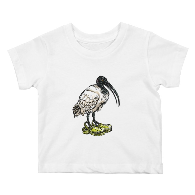 Ibis Kids Baby T-Shirt by Simon Christopher Greiner