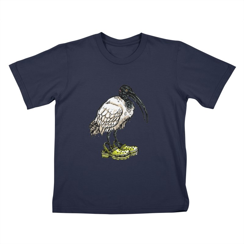 Ibis Kids T-Shirt by Simon Christopher Greiner