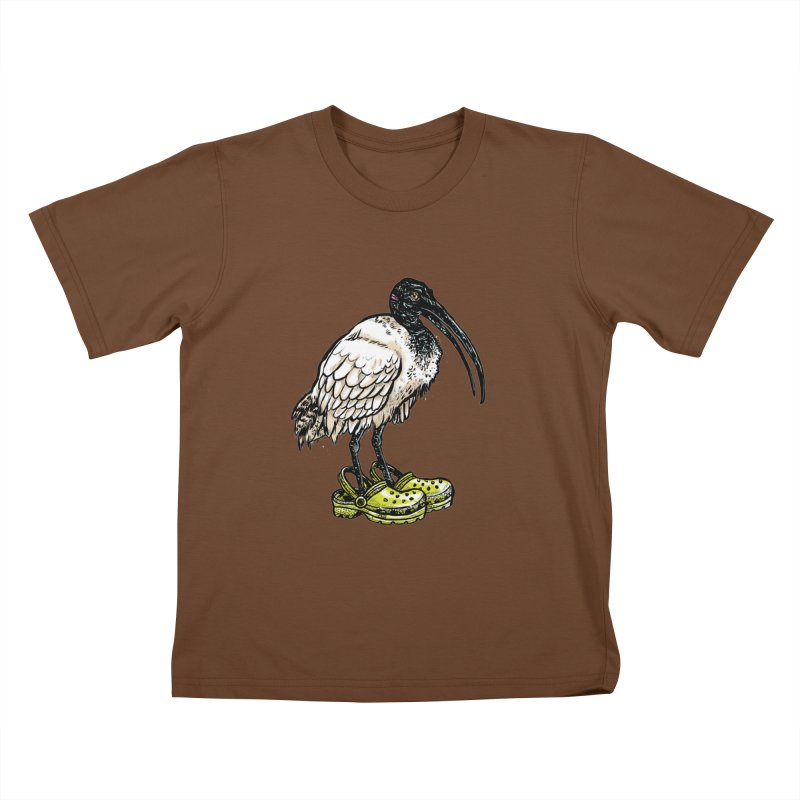 Ibis Kids T-shirt by Simon Christopher Greiner
