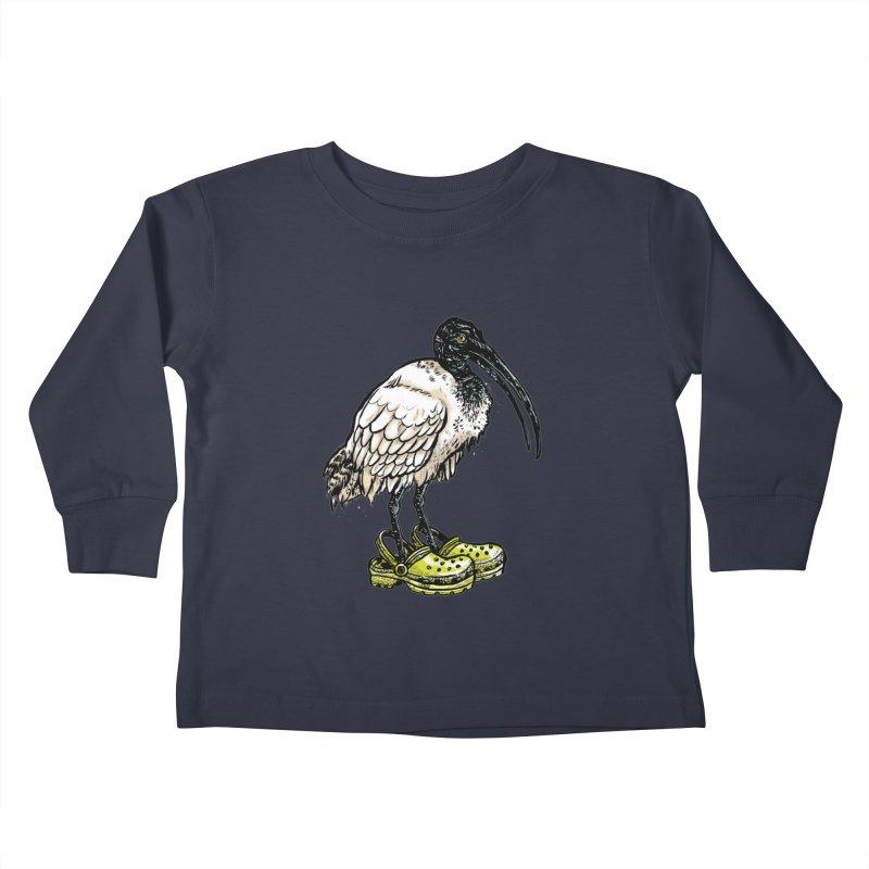 Ibis Kids Toddler Longsleeve T-Shirt by Simon Christopher Greiner