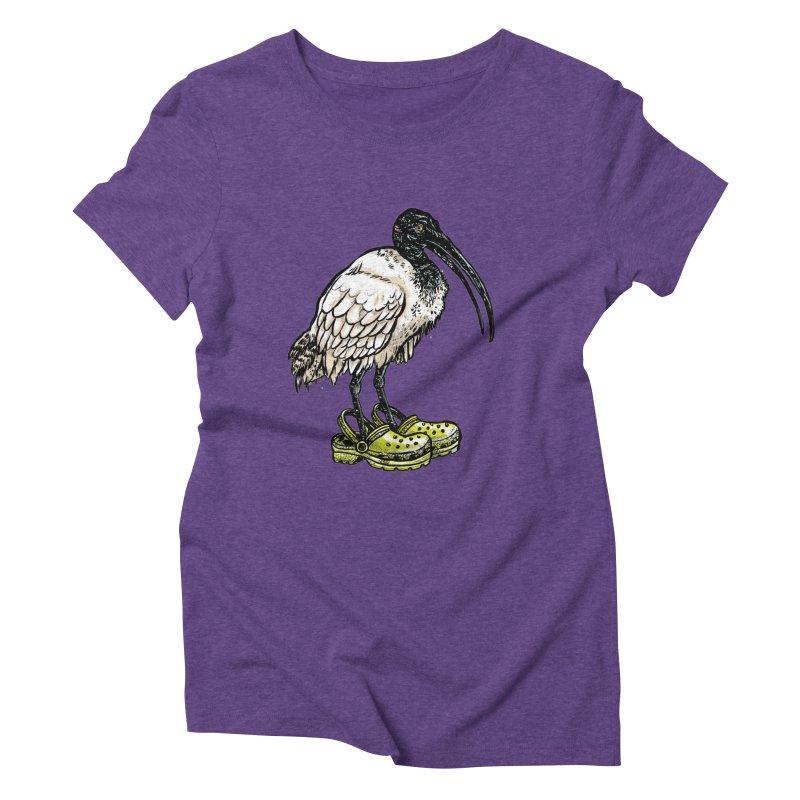Ibis Women's Triblend T-Shirt by Simon Christopher Greiner