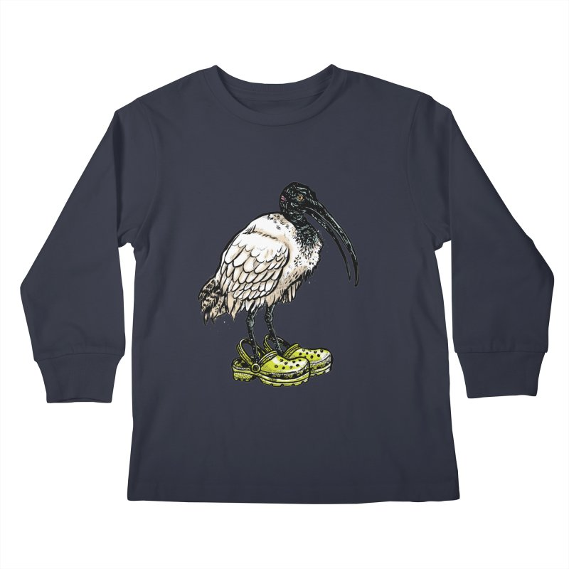 Ibis Kids Longsleeve T-Shirt by Simon Christopher Greiner