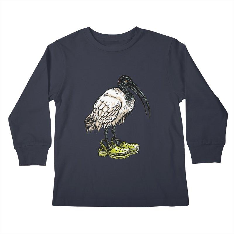Ibis Kids Longsleeve T-Shirt by Simon Christopher Greiner