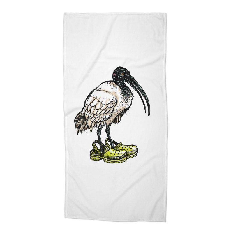 Ibis Accessories Beach Towel by Simon Christopher Greiner