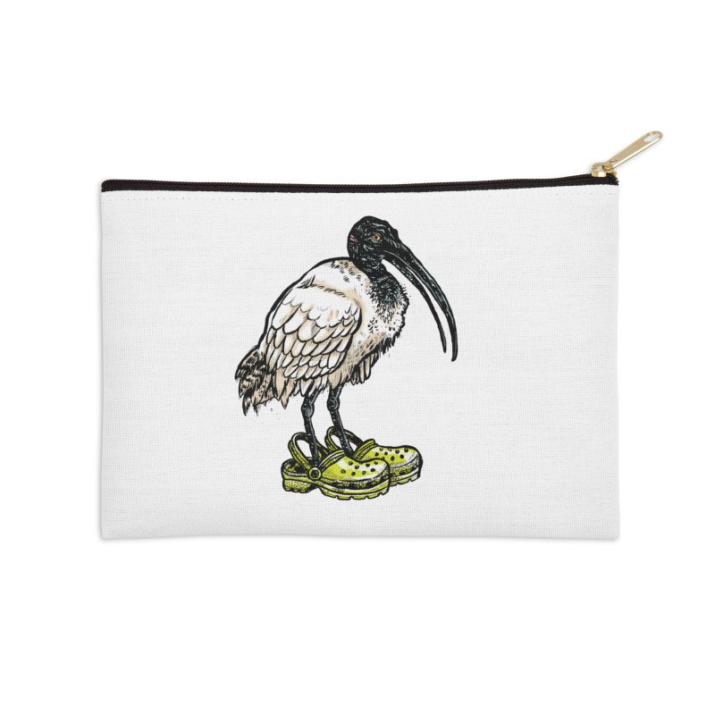 Ibis Accessories Zip Pouch by Simon Christopher Greiner