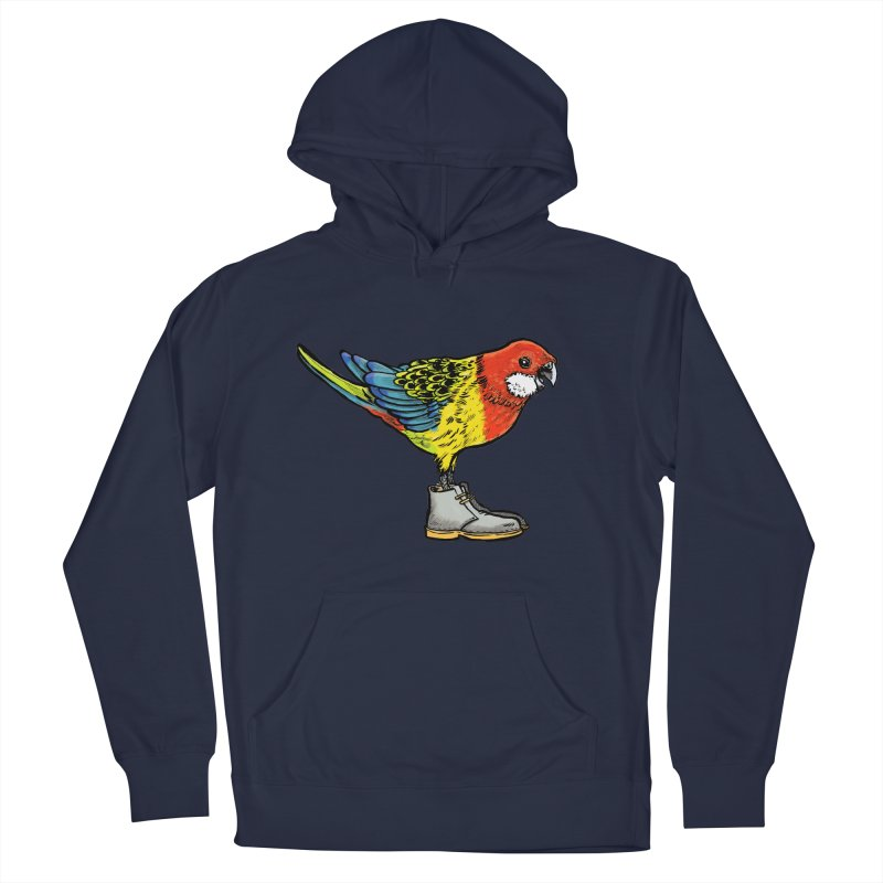 Rosella Men's Pullover Hoody by Simon Christopher Greiner