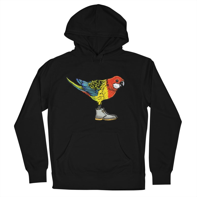 Rosella Women's French Terry Pullover Hoody by Simon Christopher Greiner