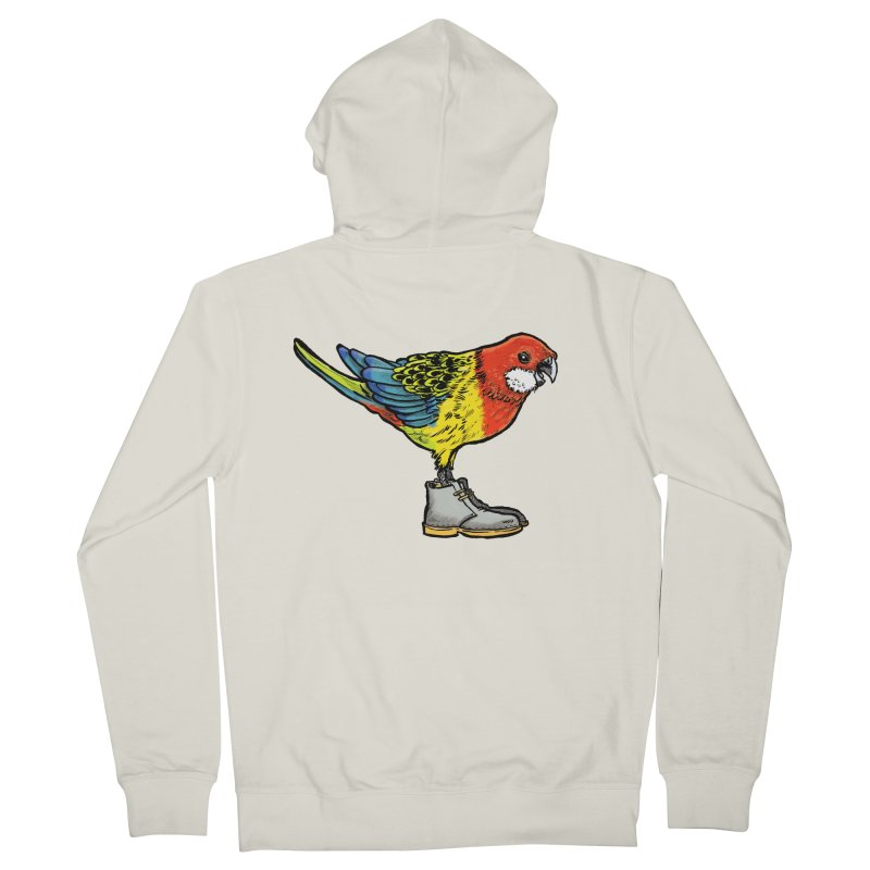 Rosella Women's French Terry Zip-Up Hoody by Simon Christopher Greiner