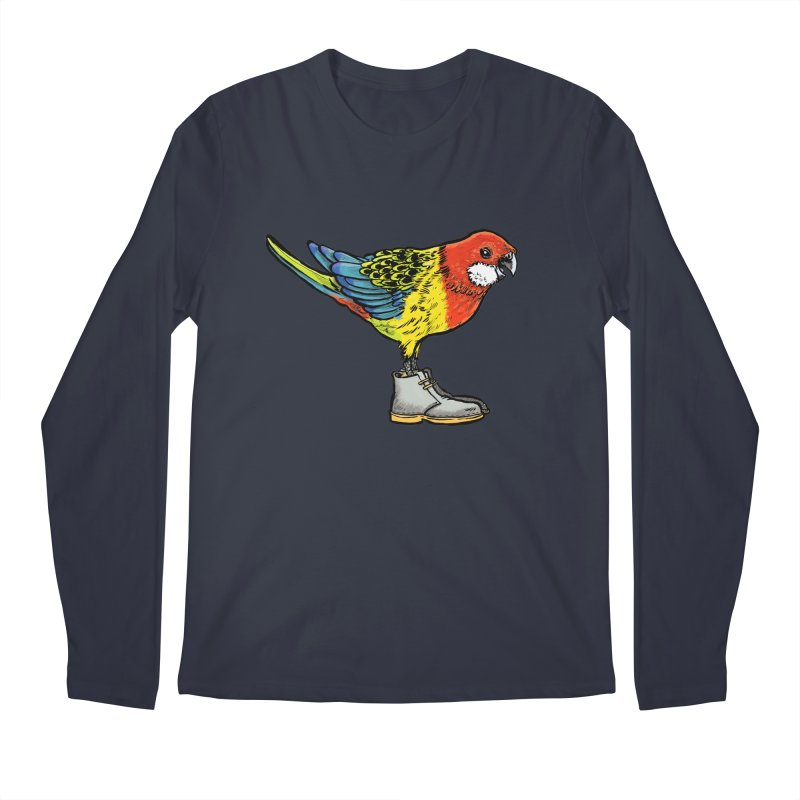 Rosella Men's Regular Longsleeve T-Shirt by Simon Christopher Greiner