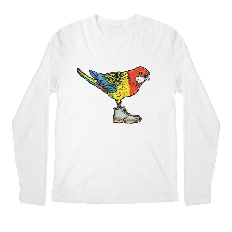 Rosella Men's Regular Longsleeve T-Shirt by Simon Christopher Greiner