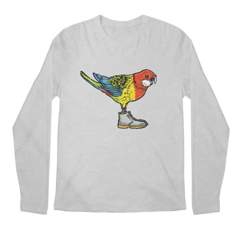 Rosella Men's Longsleeve T-Shirt by Simon Christopher Greiner