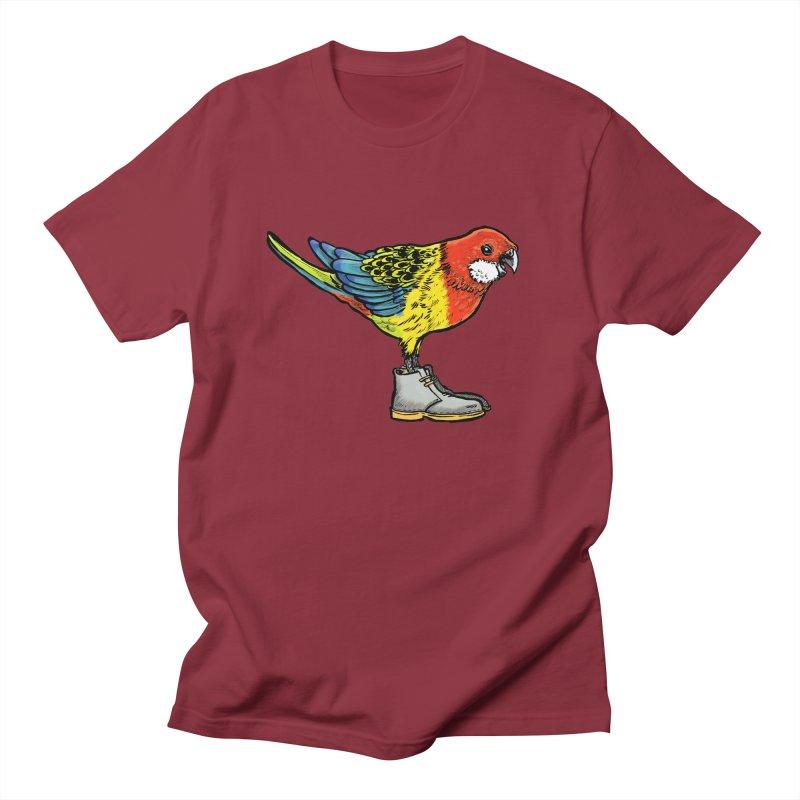Rosella Men's Regular T-Shirt by Simon Christopher Greiner