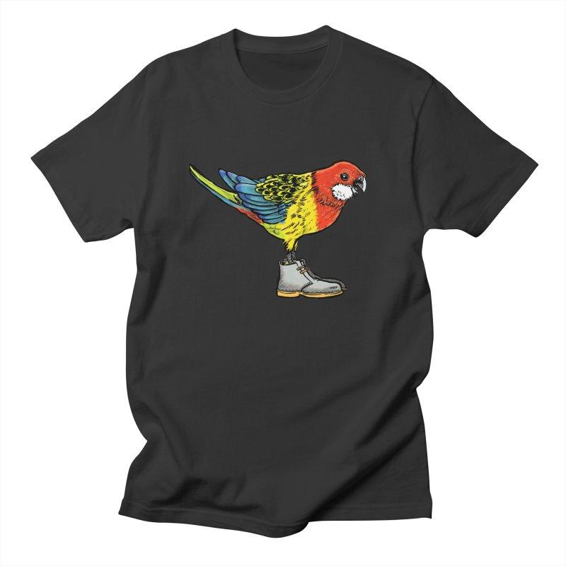 Rosella Men's T-Shirt by Simon Christopher Greiner