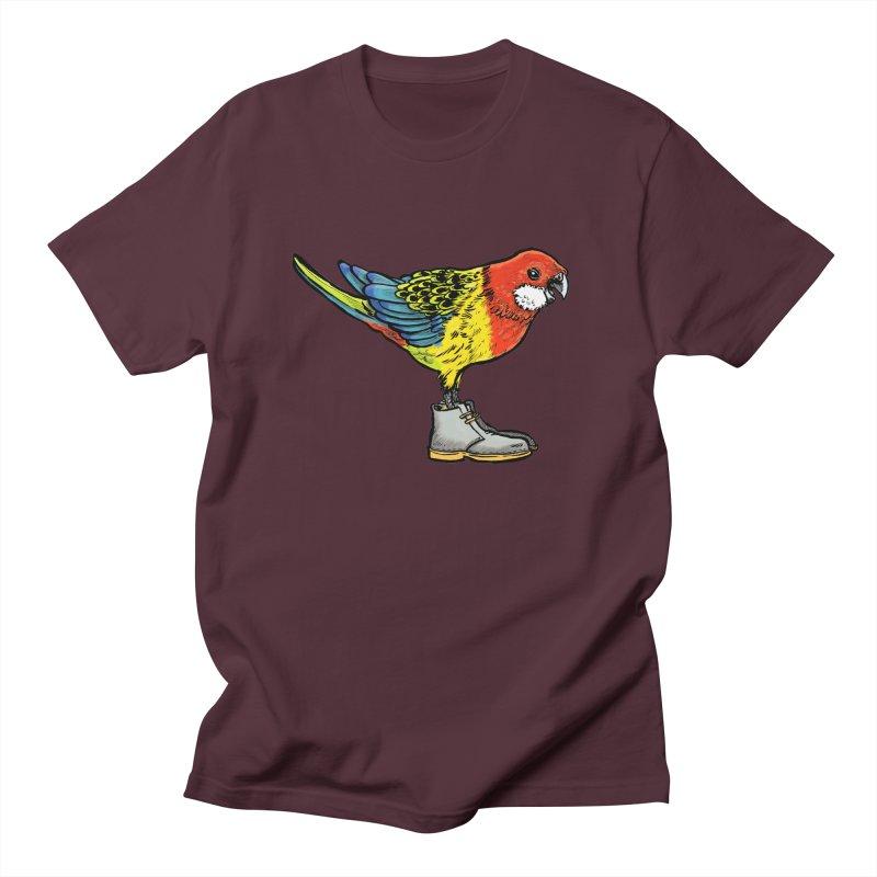 Rosella Women's Regular Unisex T-Shirt by Simon Christopher Greiner